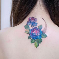 "4,124 Likes, 17 Comments - Reindeer Ink Zihwa (@zihwa_tattooer) on Instagram: ""Blue Rose """