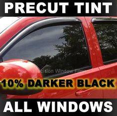 Precut Window Tint for Chevy Silverado 2500 Crew 14-18 All Windows Any Shade