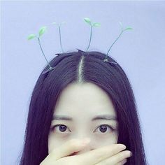 These sprout hairpins are quirky and a growing DIY trend overseas. Imagine the creative selfies you can take!
