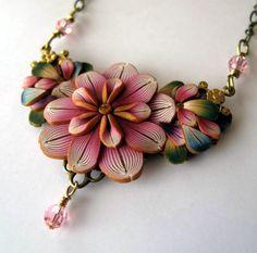 Victorian Bouquet Necklace. $30,00, via Etsy.