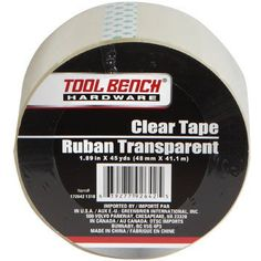 Tool Bench Clear Packaging Tape, 45-yd. Roll