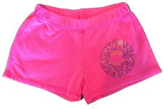 Firehouse Donut Rhinestone Shorts