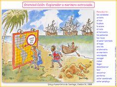 Me encanta escribir en español: Cristobal Colón : ¿Descubridor de América?