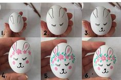 Bunny Easter Egg Kindness Confetti - This idea could easily be used on rocks instead of eggs.