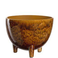 Produktinformationen Schale auf Fuß amber 041347 Material:Keramik Ambre, Ceramic Materials, Plant Care, Flower Pots, Decorative Bowls, This Or That Questions, Glass, Home Decor, Cottage Chic