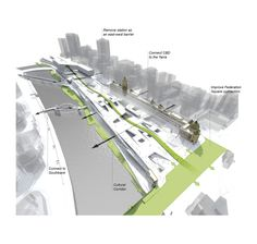 "The Flinders Street Station ""People's Choice Award"" Winning Proposal / Eduardo Velasquez + Manuel Pineda + Santiago Medina"