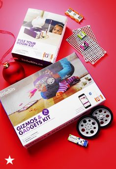 Need a gift for your future engineer? This littleBits Gizmos and Gadgets Kit hones mathematical, problem-solving, scientific and artistic skills with pieces to make and re-make electronic projects! Available now at macys.com.