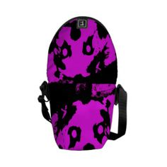 Customizable Pink/Black Shih Tzu Puppy Mini Messenger Bag on sale at www.zazzle.com/misseysphotography*