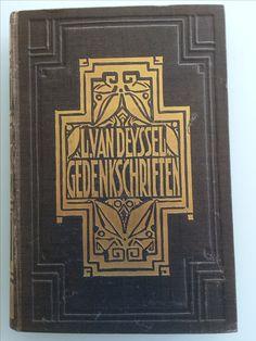Gedenkschriften L. Van Deyssel Ontwerp Heukelom