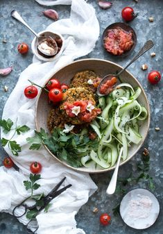 Mung Bean Rostis with date chutney. This easy healthy and delicious vegan dish is packed full of Indian flavors. Gluten free too! Raw Vegan Recipes, Vegetarian Recipes, Healthy Recipes, Vegan Food, Tamarind Recipes, Vegetarian Cookbook, Chutney Recipes, Bean Recipes, Mung Bean