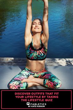 Fabletics by Kate Hudson. A curated collection of Activewear that is a buy now and wear forever. For A Limited Time Only from July 31st 2015 to August 31st 2015 Get Your First Outfit for $25 Free Shipping. Discover outfits that fit your lifestyle by taking our Lifestyle Quiz to take advantage of this offer!