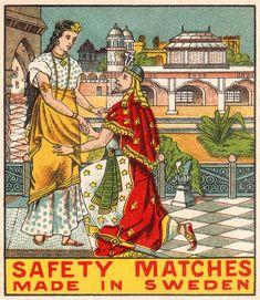 Beautiful match book.