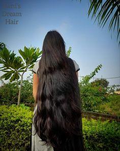 Open Hairstyles, Girl Hairstyles, Insta Posts, Medium Long, Long Hair Styles, Hair Girls, Beauty, Nature, Cute