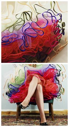 DIY tulle petticoat                                                                                                                                                                                 More