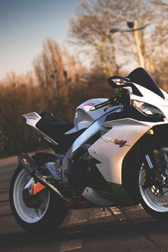 Aprilia RSV4.  This is an amazing bike.  Has not changed much in the last couple years, but it didn't need to.  This super bike has caused the others to play catch up.  Well done Aprilia.