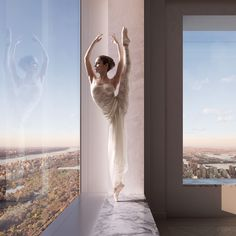 ballerina in the window by dbox, 432 Park avenue by Vik Tory