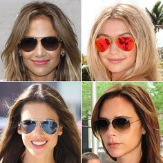 Pin for Later: The Best Sunglasses For Your Face Shape Aviator