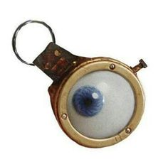 Mad Eye Moody key chain.