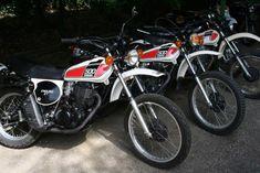 XT 500 Yamaha - VTA - Les Vieilles Tétines des Alpes