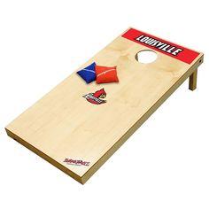 Louisville Cardinals Tailgate Toss XL Beanbag Game, Multicolor