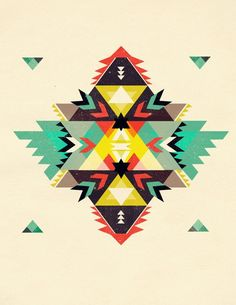 Pattern Aztec Ok, so I love the radial/geometric thing going on here. Something like this wou. Tribal Patterns, Tribal Prints, Print Patterns, Native Art, Native American Art, American History, Motif Navajo, Navajo Pattern, Navajo Print