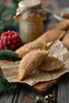 "Portuguese ""Azevias"" Christmas Pastries {filled with Almond and Chila Pumpkin}"