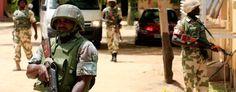 Nigerian soldiers have been battling Boko Haram for years (Jon Gambrell/AP)