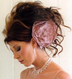 love crazy messy updo