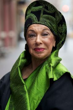 The always fabulous, 'Countess of Glamour', Lynn Dell Cohen, at 78.
