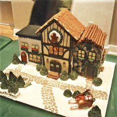 thisoldhouse.com | from Editors' Picks: 99 Amazingly Crafted Gingerbread Houses