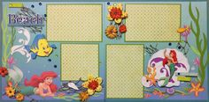 AMAZING GRACE Paper Crafts: Disney Layouts