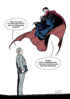 Stephen Strange & Everett Ross