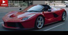 Sebastian Vettel Demonstrates How Gorgeous The New LaFerrari Aperta Is #Ferrari_LaFerrari #Ferrari_Videos