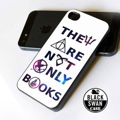 They Are Not Only Books - iPhone 4/4s, iPhone 5, iPhone 5c, iPhone 5s, Samsung Galaxy S3, Samsung Galaxy S4 Case on Etsy, $14.00