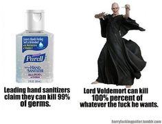 ahahahahahah! #antibacterical #voldemort #harry potter