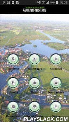Geniet In Terherne  Android App - playslack.com , Geniet van een heerlijke vakantie of dagje uit in Friesland ! Bezoek het prachtige Friese watersportdorp Terherne met tal van activiteiten op het water en in de nabijheid van de Friese meren. Terherne is bij velen ook bekend als Kameleondorp.