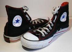 Converse All Star Chuck Taylor Hi Top Athletic Shoes Sneakers Mens Sz 7 Black…