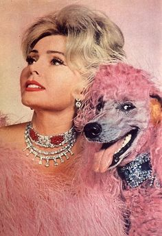 "Zsa Zsa Gabor:  ""I never hated a man enough to give him back his diamonds."""