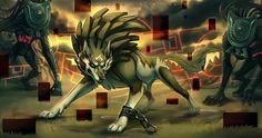 Wolf Link : Ambush by Autlaw.deviantart.com on @DeviantArt