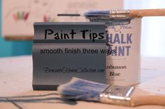 Brocante Home Collection - Rachel shows you how to make a smooth finish with Chalk Paint® three ways in her video - www.facebook.com/Brocanteurs