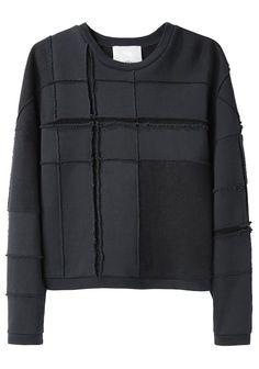 3.1 Phillip Lim / Tromp L'Oeil Plaid Sweatshirt
