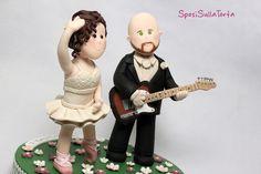 custom wedding cake topper - SposiSullaTorta personalizzati!