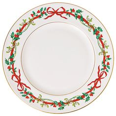 my christmas china holly ribbons by royal worcester