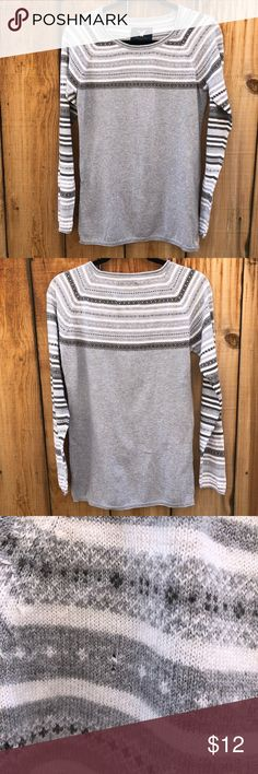 🌟FINAL🌟 American Eagle AEO Fair Isle Sweater Bundle 3 items priced under $10 for $20!! Otherwise final SALE price!  ✌🏽❣️😁 American Eagle AEO Fair Isle Sweater Fits more like a Medium American Eagle Outfitters Sweaters Crew & Scoop Necks