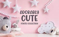 Stiahnite si balík písiem Adorably Cute Fonts Collection za 49 dolárov