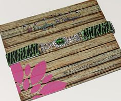 This gorgeous Green Rhinestone Connector Zebra Print Elastic Headband will add the perfect pop of color to any photo shoot, flower girls