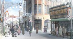 8月6日の広島原爆で失われてしまった街並みが、アニメで正確によみがえる。今秋公開の映画「この世界の片隅に」
