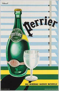 Perrier ~ Bernard Villemot