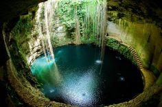 La cenote d'Ik Kil au Mexique : Les plus belles piscines naturelles dumonde - Linternaute