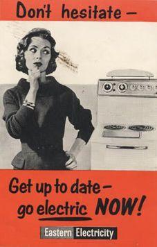 Don't hesitate 1950's advert